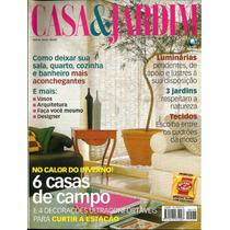 Revista Casa & Jardim - Ano 46 - Nº 533 - Junho/99 - F/grati
