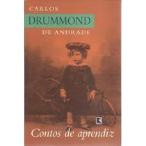 Livro Contos De Aprendiz - Carlos Drummond De Andrade