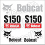 Kit Adesivos Bobcat Ns150 - Decalx