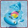 Bóia Bote Inflável Bebê Baleia C/ Calda Nautika P/ Piscina