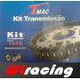 Kit Transmissão Relação Cg/ Titan / Fan 125 /ks/es 2000/2008