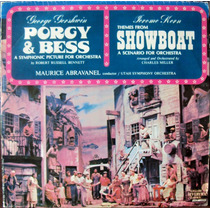 Lp Vinil - Porgy & Bess + Showboat (gershwin E Kern)