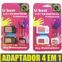 Adaptador Nano Chip Micro Sim Iphone 5/4/3 Ipad Celulares