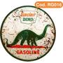 Placas Redondas Gasolina Retro Vintage