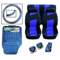 Kit Azul De Capas Para Automoveis