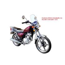 Bolha Parabrisa Custom Klein Suzuki Intruder 125
