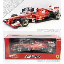 1/18 Hot Wheels Ferrari F138 Fernando Alonso Vice F1 2013