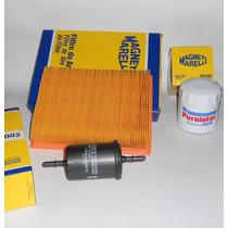 Kit Filtros Ar,oleo,combustivel Corsa, Corsa Classic, Flex.