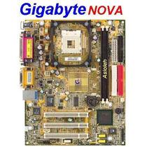 Gigabyte Ga-8ls533 Nova Vídeo/ Som/ Rede/ 2 Seriais On-board