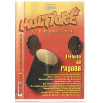 Dvd Multiokê - Tributo Ao Pagode - Novo***
