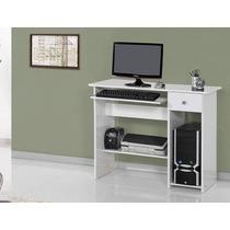 Escrivaninha Para Computador Branca