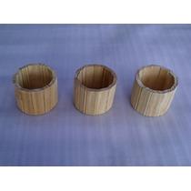 5 Potes De Madeira ( Artesanato, Vaso, Marcenaria, Enfeite )