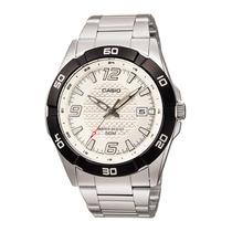 Relógio Casio Mtp-1292 D Caixa Aço Vidro Mineral Wr-50 Mt Br