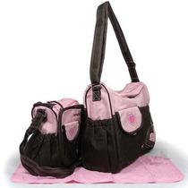 Kit Bolsa Maternidade Bebe Carters - 2 Bolsas + Trocador