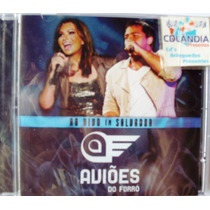 Cd Avioes Do Forro - Ao Vivo Salvador -original -cdlandia