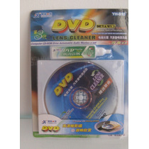 Kit De Limpeza Vcd/dvd Player And Drive Cleaner