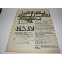 ( L - 290 ) Propaganda Antiga Grupo Gerdau