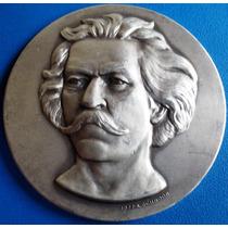 Carlos Gomes-musico-medalha Prata 900-1978-50mm-63 Grs.