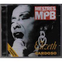 Elizeth Cardoso - Mestres Da Mpb - Cd Lacrado Frete Grátis
