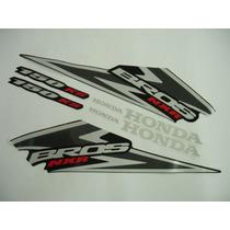 Adesivo Bros 150 Ks 2006 Preta, Faixa Original Completa
