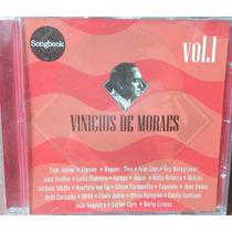 Cd Songbook Vinicius De Moraes Vol 1 - Vários Cantores