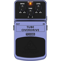 To100: Pedal Tube Overdrive - Drive Valvulado To 100