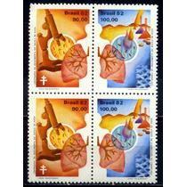 Quadra Nova C-1248-49 - 100 Anos Desc.do Bacilo Da Tuberculo