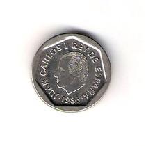 Espanha - Rei Juan Carlos I 1986 200 Pesetas Linda Moeda !