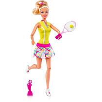 Boneca Barbie Quero Ser Tenista Disney Mattel Bebe Store