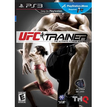 Playstaion 3 Ufc Personal Trainer + Leg Strap - Requer Move