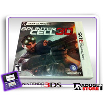 3ds Tom Clancys Splinter Cell 3d Original Nintendo 3ds