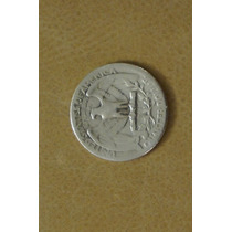 Usa Moeda De Prata Quarter Dollar 1935 Americana
