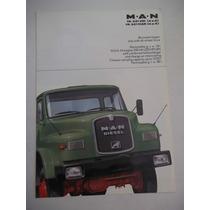 Brochura De Venda Caminhões Man 19321 Hk Hak 4x2 4x4