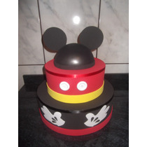 Bolo Cenográfico Do Mickey