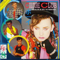 Culture Club - Lp Colour By Numbers - Encarte - 1984