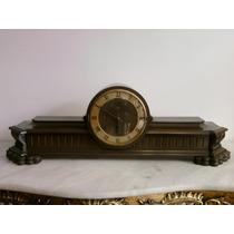 Antigo Relógio De Mesa . Marca Silco. Estilo- Renascênça.