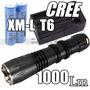 Lanterna Tática 1000 Lumens Cree T6 Xm-l Led Brinde Gratis