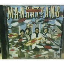 Funk Soul Black Pop Rock Cd Manhattans Greatest Hits Raro