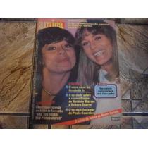 Revista Amiga C/ Poster Fafa De Belém E O Adeus A Cartola