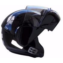 Capacete Ebf E8 Robocop (articulado) Brilho Tamanho 56-58-60