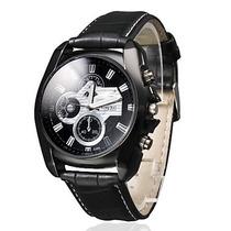 Relógio Masculino Black Style. Lindo Relógio.super Diferente