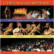 Cd Desafio Do Repente -com: Valdir Teles, Sebastiao Da Silva