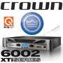 Amplificador Crown Xti 6002 - Novo Modelo Xti6002
