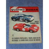 Revista Antiga Duelo Ford Gt 40 X Ferrari P 33