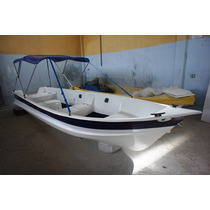 Barco Bote Lancha Fibra Pesca C/capota 5,60 Artsol Fabrica