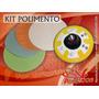 Kit Polimento Em Vidros/parabrisas Lixas 3m - Rv Adesivos