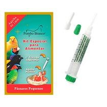 Kit Especial Para Alimentar Pássaros - Marca Pombo Branco
