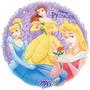 Balão Metalizado Flutua Com Gás Hélio 45cm Princesas Disney