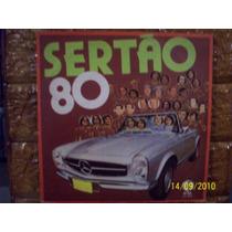 Vinil Lp Sertão 80 - Mensageiro E Mexicano, Trio Parada Dura