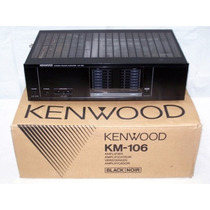 Kenwood Km 106.amplificador.125w/canal.zerado Na Caixa.japan